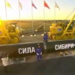 Rusia y China inauguran las obras de construcción del mayor gasoducto del mundo