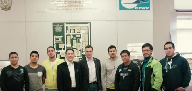 Video: Estudiantes peruanos y mexicanos en la Universidad Aeroespacial de Samara