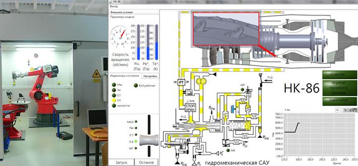Todas las condiciones de Hardware y Software en la SGAU para una formación de calidad Mundial. Imágenes: Centro robótico y Simulación informática del Sistema de Control Hidromecánica de la Turbina HK 86