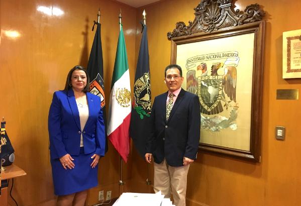 Convenio Interinstitucional entre la Universidad Nacional Autónoma de México y  ALAR