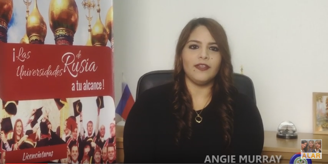 Especialidad médica en Rusia: Urología, Angie Murray (Belice)