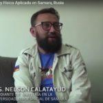 Nelson Calatayud (Bolivia) Maestría en Matemática y Física aplicada en Samara, Rusia