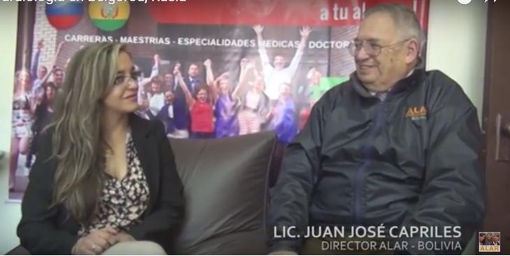 Dra. Nixa Arzabe (Bolivia) Especialidad en Cardiología en Belgorod, Rusia