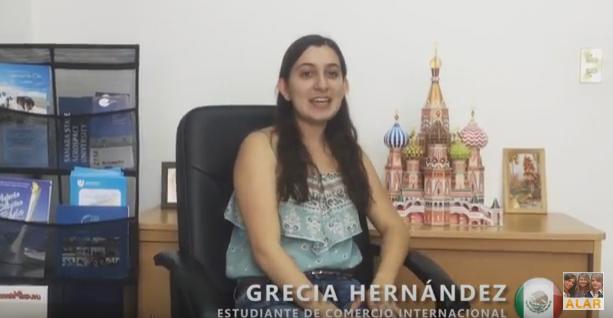 """Grecia Hernández (México) """"Explorando el Patrimonio Ruso"""" en San Petersburgo, Rusia"""
