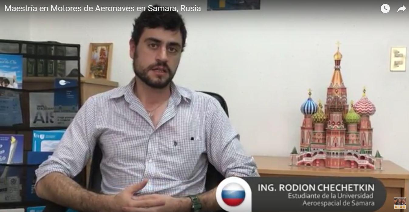 Rodion Chechetkin (Rusia – México) Maestría en la Universidad Estatal Aeroespacial de Samara, Rusia