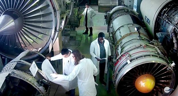 Instalaciones de la Universidad Aeroespacial de Samara