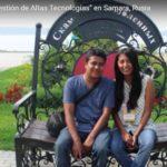 """Evaluz Vásquez y Omar Olvera (México) – Curso de Verano """"Gestión de Altas Tecnologías"""" en Samara, Rusia"""