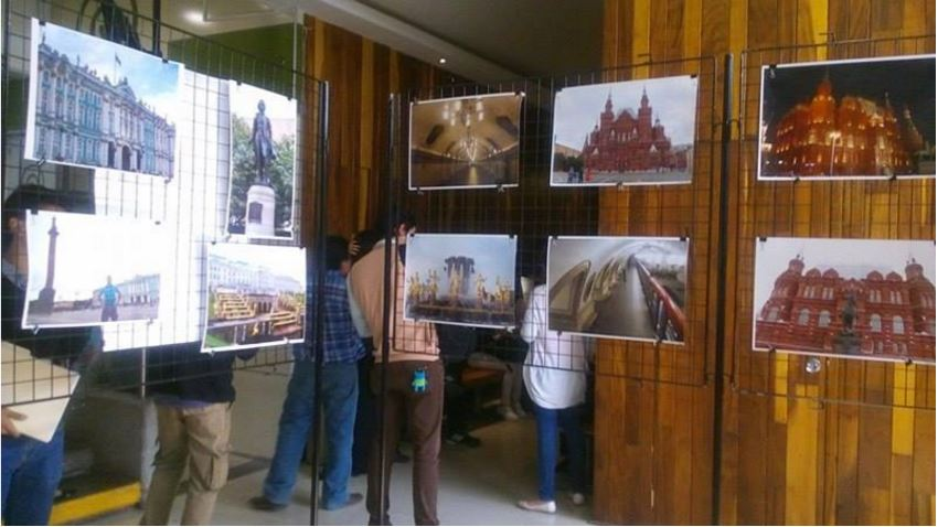 """Exposición fotográfica """"Rusia a través de los ojos de tres estudiantes mexicanos"""""""