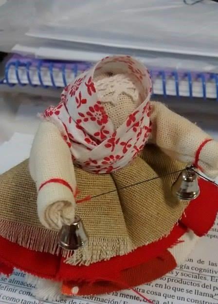 Muñeca campanita de Valdai