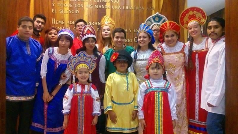 Jornada Cultural Rusa en el Centro de Lenguas Extranjeras de la UNAM
