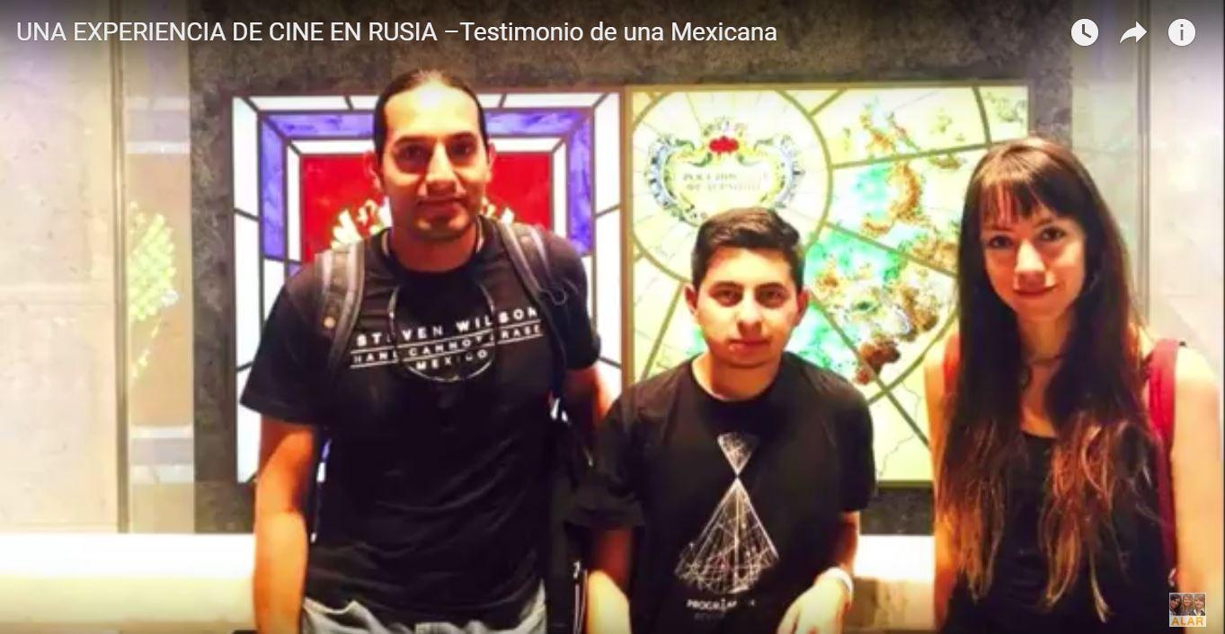 """Laura Rodríguez (México) – Curso de Cine """"Documental y Animación"""", Estudios en Rusia"""