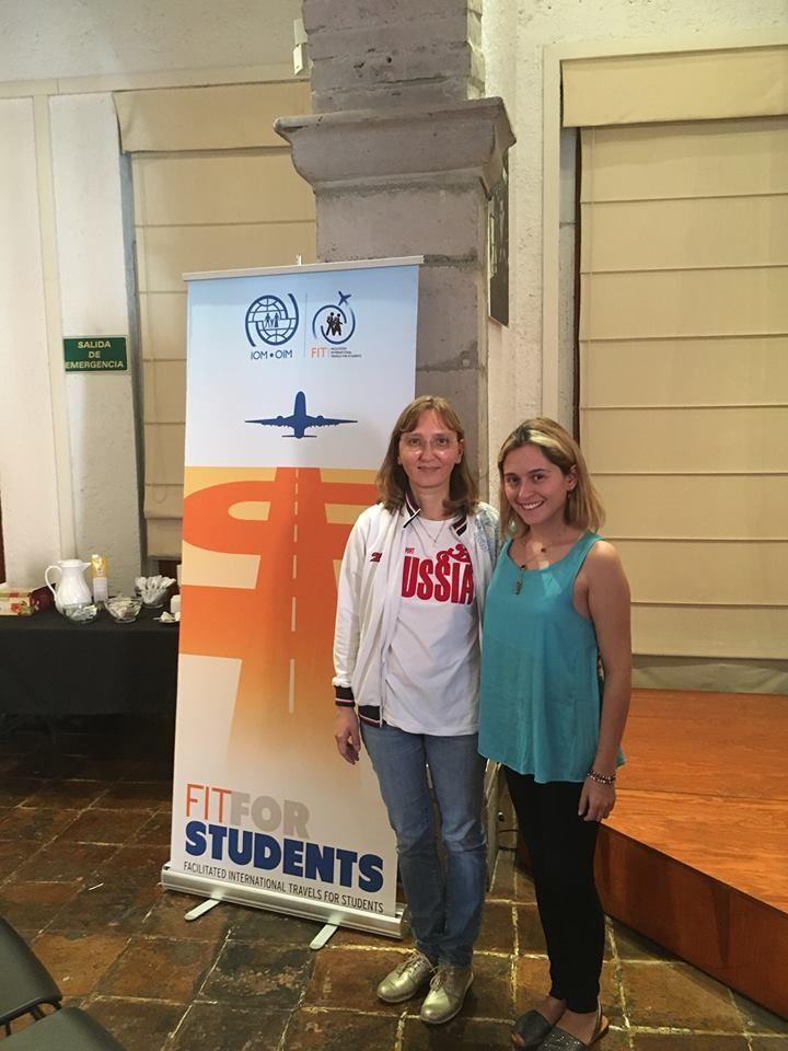 Anette Alfaro es una de las estudiantes de ALAR que viajará a San Petersburgo.