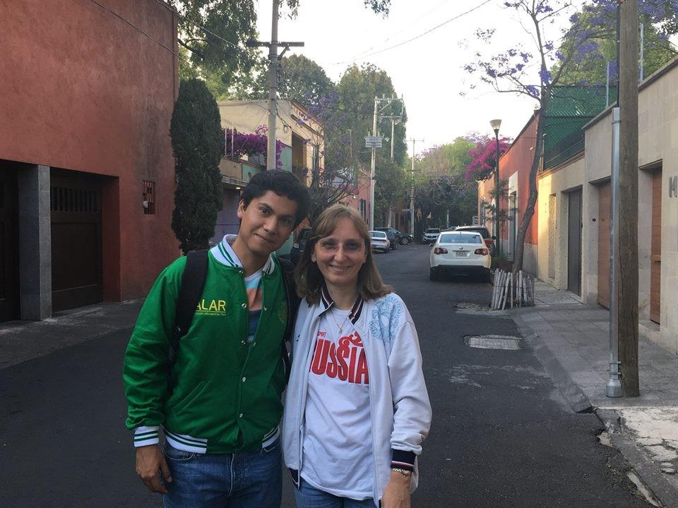Manuel Castañeda fue uno de los alumnos de ALAR que asistieron a la conferencia.