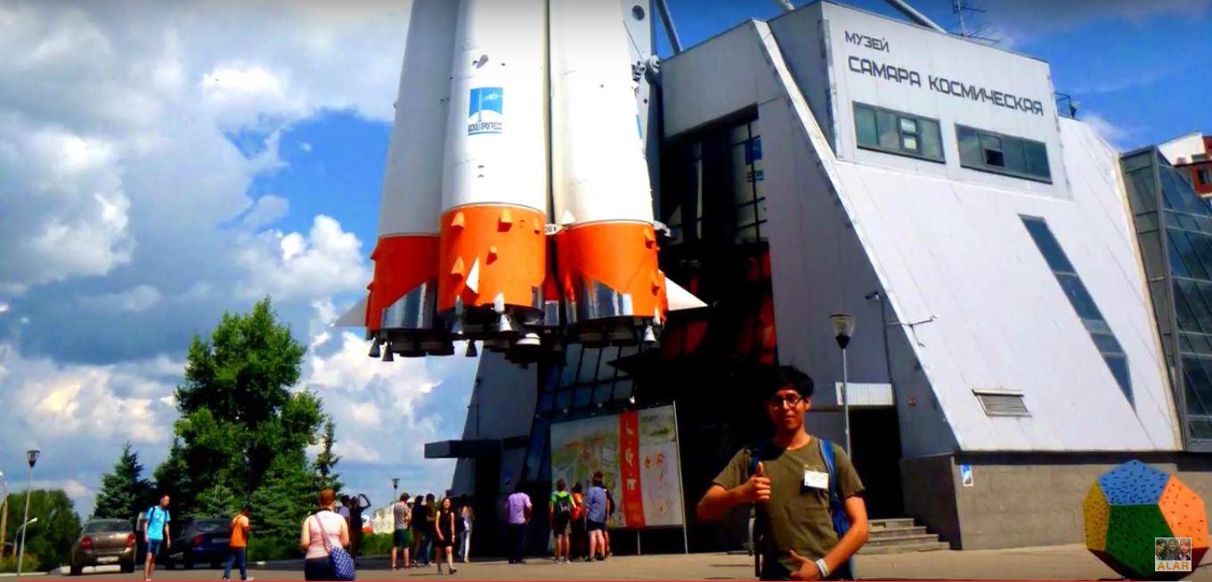 Ulises Santa Cruz (Baja California, México), Experiencia en Desarrollos Espaciales en Rusia