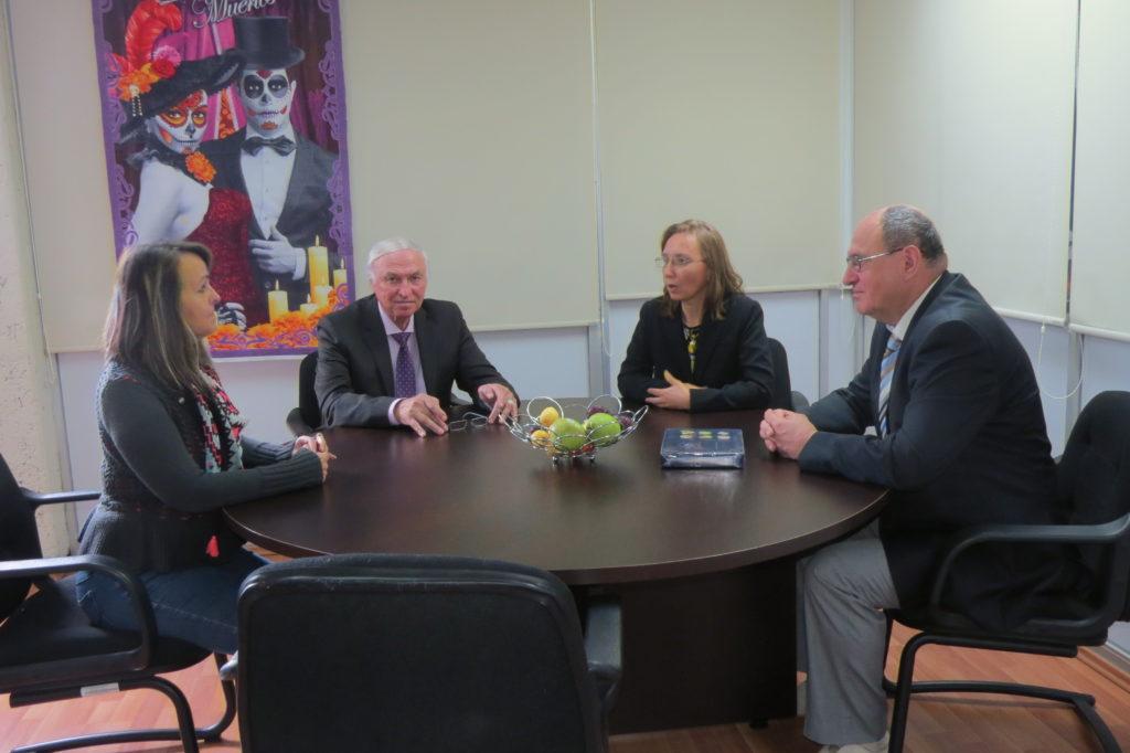 ALAR y RUDN tuvieron una reunión sobre oportunidades para movilidad estudiantil y estudios de posgrado para los egresados de la UAZ, esto con los encargados en el área de Vinculación