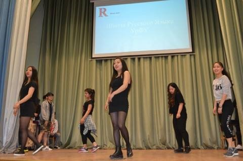 Presentaciones de las estudiantes