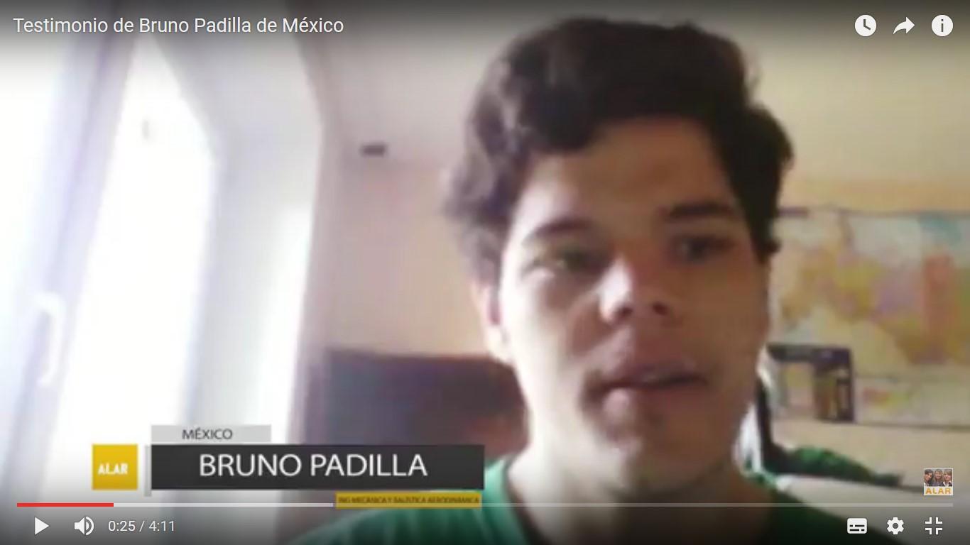 Testimonio de Bruno Padilla de México