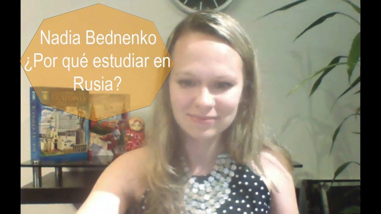 Saludos de Nadia Bednenko – Bienvenidos a Rusia