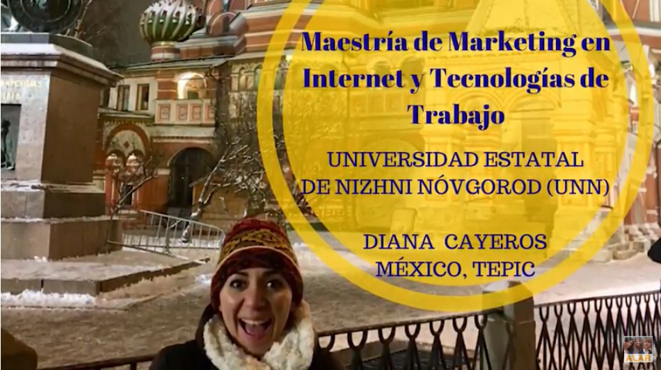 Testimonio de estudiante mexicana en Universidad Estatal de Nizhni Nóvgorod (UNN)