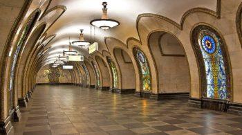 5 Famosas estaciones del metro de Moscú