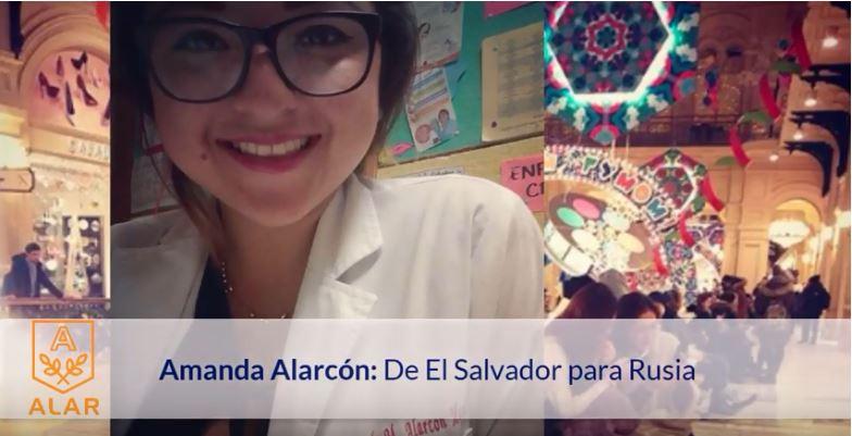 ¡Sorprendente!  Universidad de Bélgorod reconoce a salvadoreña por la contribución a las relaciones interculturales entre Latinoamérica y Rusia
