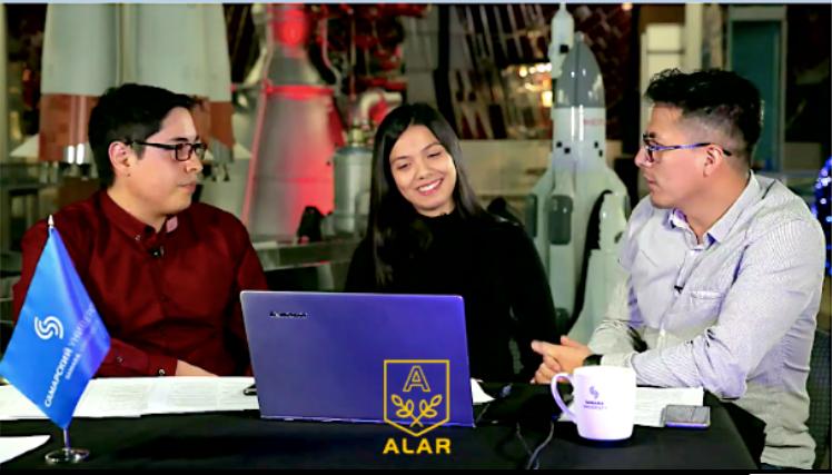 Grabación de la video conferencia impartida por ALAR y la Universidad de Samara