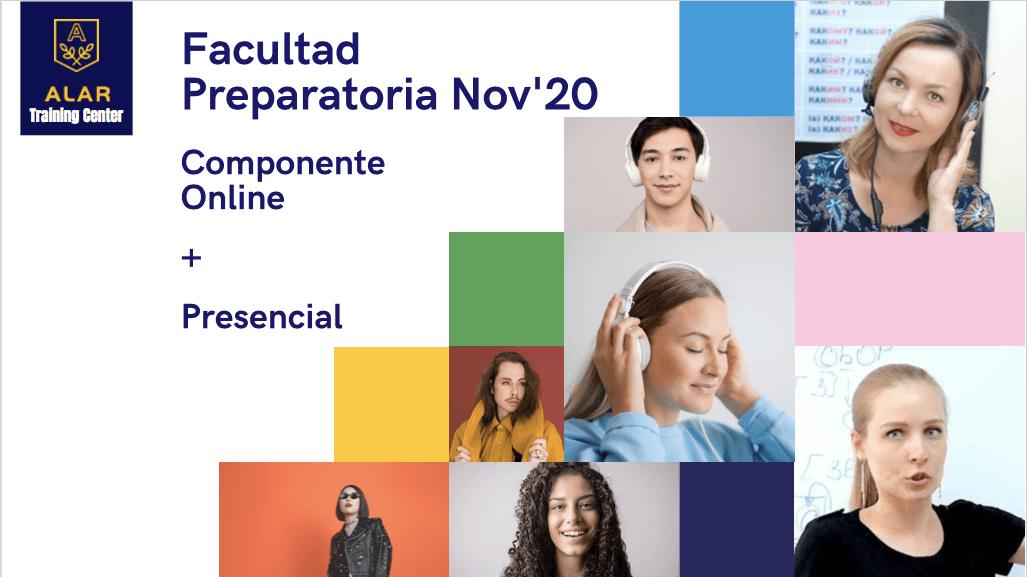 A 7 días del cierre de Inscripciones para la Facultad Preparatoria Online 2020 – II