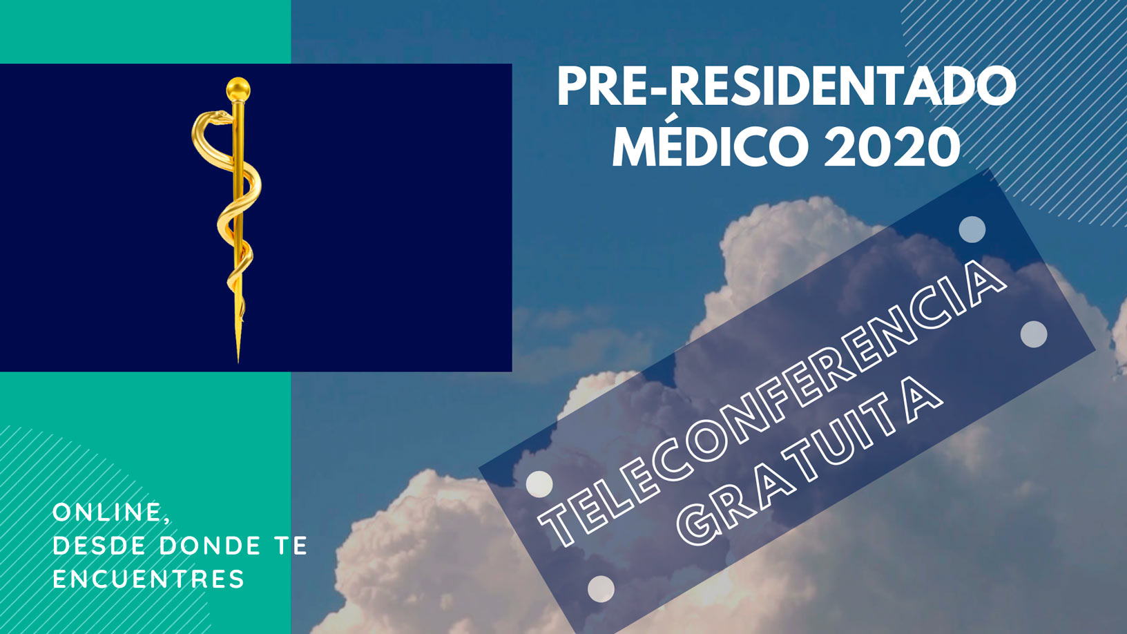 Teleconferencia Gratuita – Pre Residentado Médico 2020